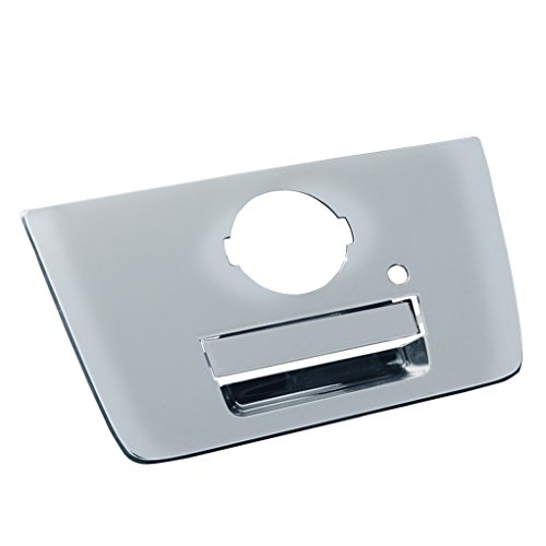 EAG Tailgate Handle Cover Triple Chrome Plated ABS Fit for 04-12 Nissan Titan
