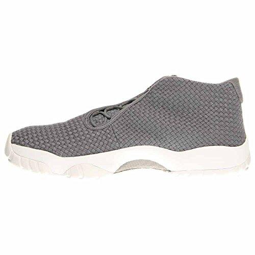 Nike Air Jordan Toekomstige Mens Hi Top Basketbal Trainers 656.503 Sneakers Schoenen Grijs / Cool Grijs / Wit