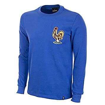COPA Football - Camiseta Retro Francia años 1970 (S)