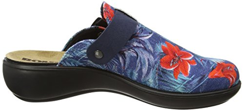 Romika Ibiza Home 321 - Zapatillas de casa Mujer Blue (Blue Combi)