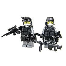 Army Urban Sniper Team (SKU59)- Battle Brick Custom Minifigures
