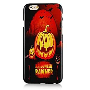QYF Smile Halloween Pumpkins Pattern Hard Back Case for iPhone 6
