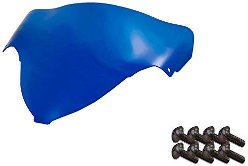 (Sportbike Windscreens ADSW-206B Blue Windscreen (Suzuki Hayabusa (99-07) with Silver Screw kit), 2 Pack)