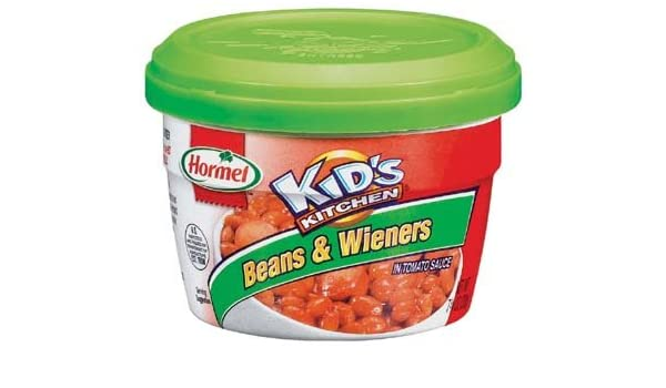 Amazon.com : Hormel Microwavable Kids Kitchen Bean & Wieners 7.75 oz (Pack of 12) : Baked Beans : Grocery & Gourmet Food