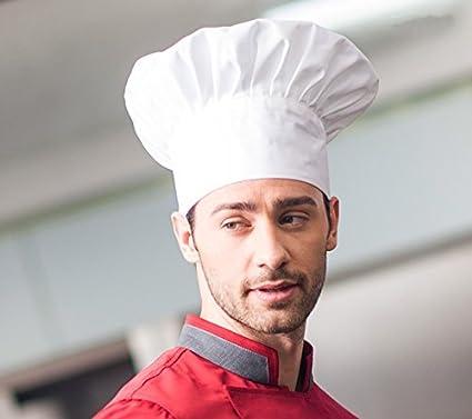 cceb917c4e124 Warmtree - Sombrero elástico para chef de chef de cocina