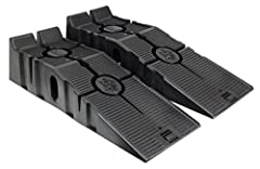 Sturdy, durable RhinoRamps allow for reliable and convenient access to the underside of your vehicle. Patented polymer internal support system and wide stance offer excellent weight distribution and unbeatable strength. The innovative CoreTRA...