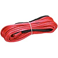 CUHAWUDBA 4m 5tons Car Van Tow Rope Hook Heavy Duty Road Recovery Pull Towing Strap