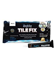 MagicEzy Tile Fix - Professionally and Easily Touch-UpCrackslessthan 1 mmon Your Floor and Wall Tiles, Porcelain and Ceramic Surfaces (White)