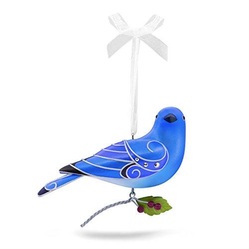 Hallmark Keepsake 2017 Beauty of Birds Mountain Bluebird Christmas -