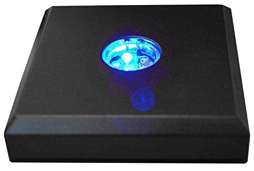 Kaltner Präsente LED Untersetzer Farbverlauf Farbwechsler Leuchtsockel mit Color-Stop Funktion für Stimmungslichter…
