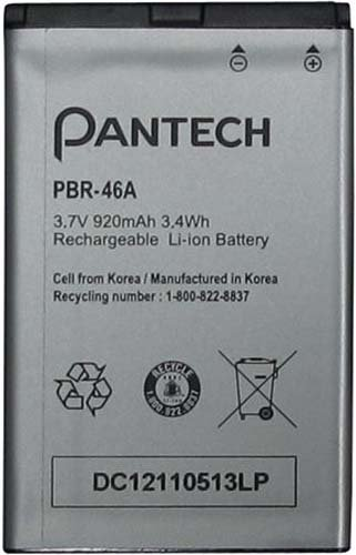 Pantech PBR 46A Battery Breeze III product image