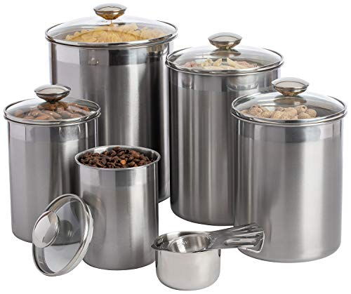 SilverOnyx Canisters Sets for
