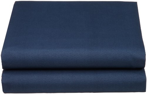 Cathay Luxury Silky Soft Polyester Single Fitted Sheet, Twin Size, Navy Blue (Twin Size Fitted Sheet compare prices)