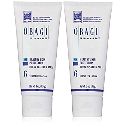 Image of Obagi Nu-Derm Healthy Skin Protection Broad Spectrum SPF 35 Sunscreen, 3 oz Pack of 2 Health and Household