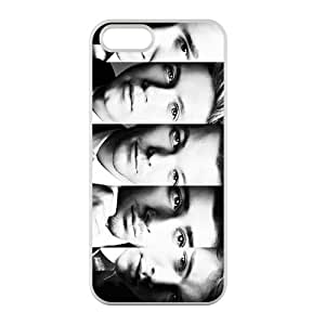 Customized iPhone Case One Direction Pop Band Printed TPU Laser iPhone 5 5S Case Cover