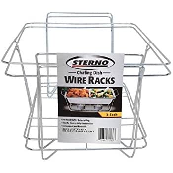 Amazon Com 6 Pack Buffet Wire Rack Folding Chafing Stand