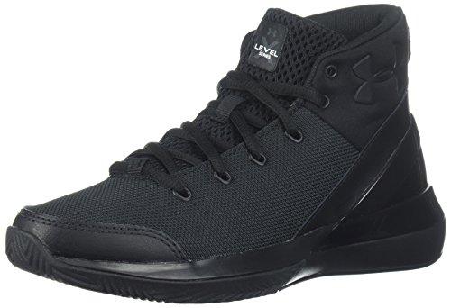 Image of Under Armour Boys' Grade School X Level Ninja Basketball Shoe, (003)/Black, 3.5