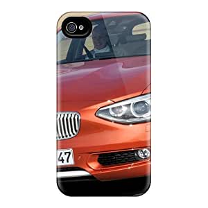Ultra Slim Fit Hard Happy-cat Case Cover Specially Made For Iphone 4/4s- Bmw 1 Series Urban Line 2012