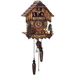 Schneider 12.5 Quartz Cuckoo Clock with Beer Drinker