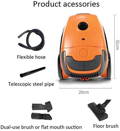 Cleaner Xinjin Aspirateur Horizontal Domestique, diamètre 12M, Grande Aspiration 1200W, Un Bouton pour Fermer la Ligne, tête de Brosse Multifonctions