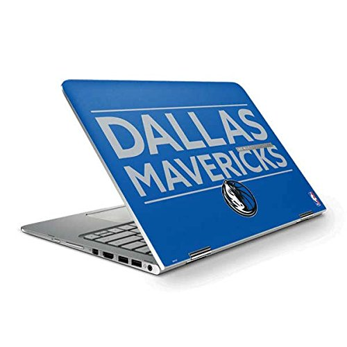 Skinit Dallas Mavericks Standard - Light Blue Spectre x360 Pro 2-in-1 13.3in Touch-Screen Skin - Officially Licensed NBA Laptop Decal - Ultra Thin, Lightweight Vinyl Decal Protection