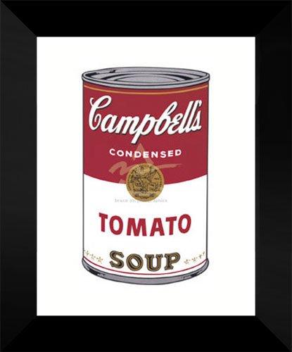 Andy Warhol Framed Pop Art Campbell's Soup I Tomato, 1968