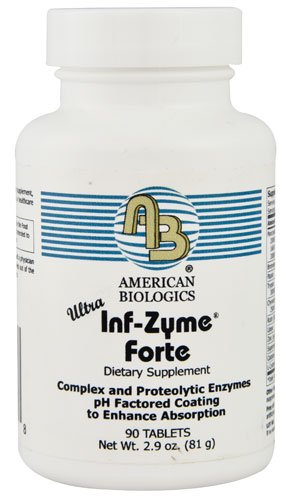 American Biologics Ultra Inf-Zyme Forte® -- 90 Tablets - 3PC by AMERICAN BIOLOGICS