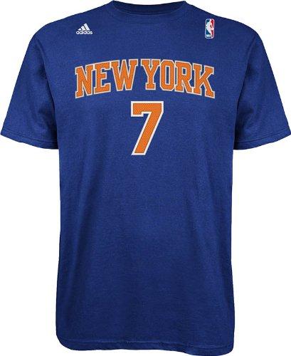 NBA New York Knicks Azul el IR a Camiseta Carmelo Anthony ...