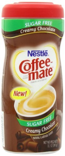 Coffee Mate Sugar Free Powdered Creamer, Chocolate, 10.2 - Ounce by Coffee-mate [Foods]