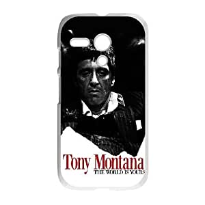 Al Pacino Scarface For Motorola Moto G Cell Phone Case White BTRY11811