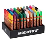 Molotow One4All 127 Paint Markers, 70 Marker Pack from Graff-City