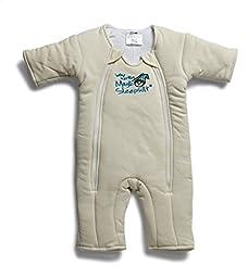 Baby Merlin\'s Magic Sleepsuit Cotton - Cream - 3-6 months