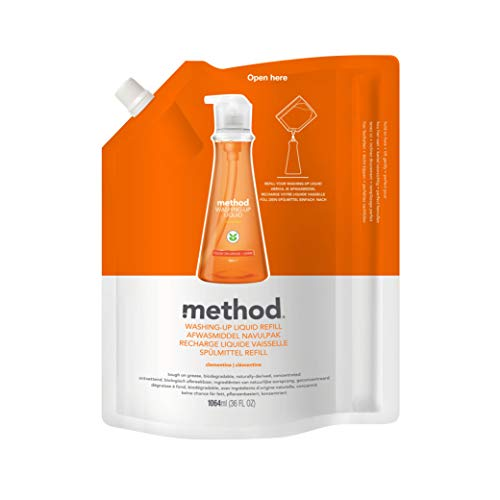 - Method Dish Soap Refill, Clementine, 36 Ounce (Pack 2)