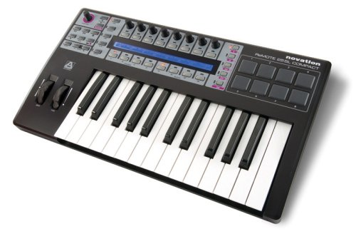Novation Remote 25 SL Compact USB MIDI Controller Keyboard