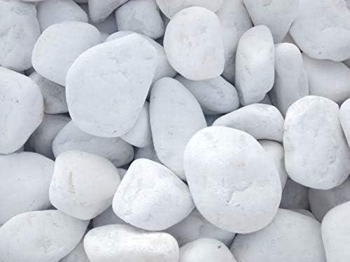 GYD SACA 1.000kg Canto RODADO Blanco Puro 20-40 MM: Amazon.es: Jardín