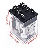TWTADE/DC 12V Coil Electromagnetic Power Relay 10A