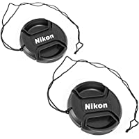 SouthBayCamera (2-Pack) 52MM Center Pinch Lens Cap for...