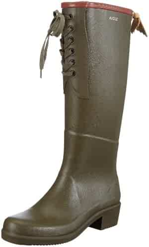 a0e63e5685a ... Knee High Zipper Buckle Strappy Winter Chunky Combat Military Boots.  seller  HTHJSCO. (0). Aigle Miss Juliette L Khaki US Ladies 9.5-10 (EUR 40)