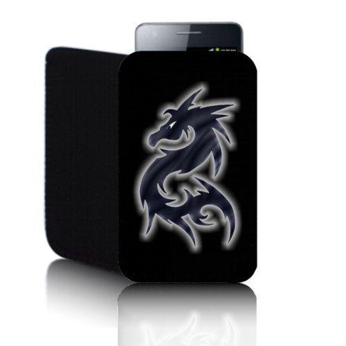 Biz-E-Bee Phonecase Exclusif 'Dragon' noir Sony Xperia go (S) Samsung Galaxy Y S6120(S) résistant aux chocs en néoprène pour Téléphone portable, Housse, Pochette