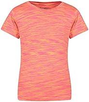 Mountain Warehouse Lightweight Girls Tee - Fast Wicking Kids T-Shirt