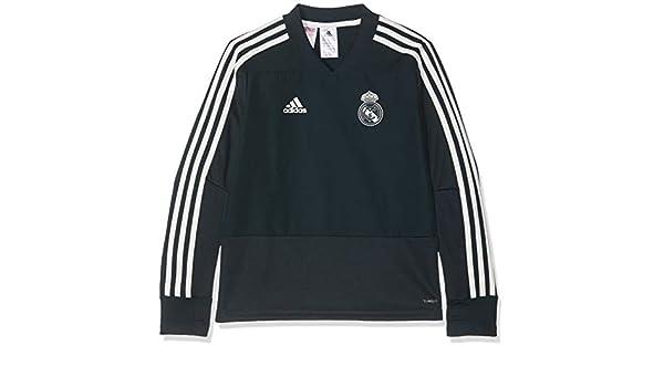 adidas Real Madrid Training Top Sudadera, Unisex niños: Amazon.es ...