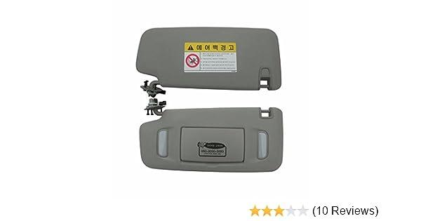 Interior Sun Visor LH Gray 1P For GM Chevrolet Cruze 2008-2013 OEM Parts 4350389825