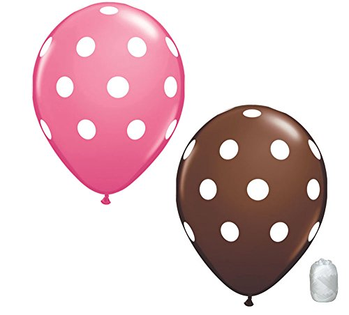 Pink And Brown Party Supplies (10 Pack 11