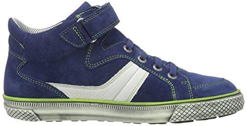 Superfit Luke - Zapatilla alta Niños Azul - azul (water combi 88)