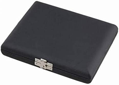 Milisten Caja de Caña Negra Caja de Almacenamiento de Caña de Instrumento Clarinete Protector Caja de Caña de Saxofón para 10 Cañas: Amazon.es: Instrumentos musicales
