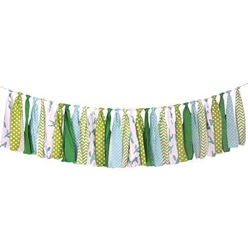 ONINIT Succulent Cactus Banner Safety Fabric Buntings Garlands for Kids Birthday,Baby Shower Decoration,Best Kids Birthday Party Supplies for Photo Booth Props,Party Decoration