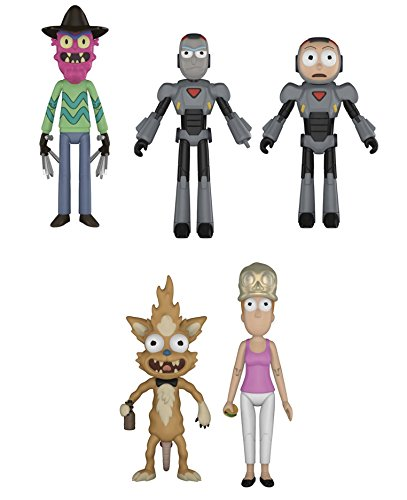- Funko Rick & Morty Series 2 Action Figures, 5