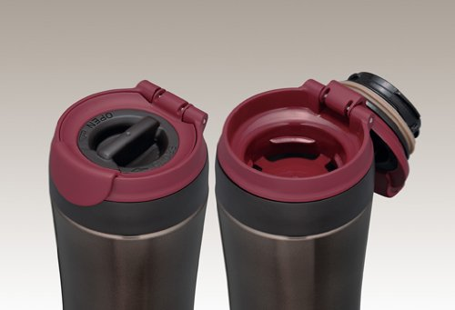 THERMOS MOTION JND-290-BK Black   Thermal Stainless Portable Tumbler 0.29 liter (9.8 oz.) (Japanese Import)