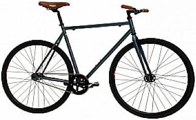 Monty Fixie - Bicicleta, Color Gris, 21