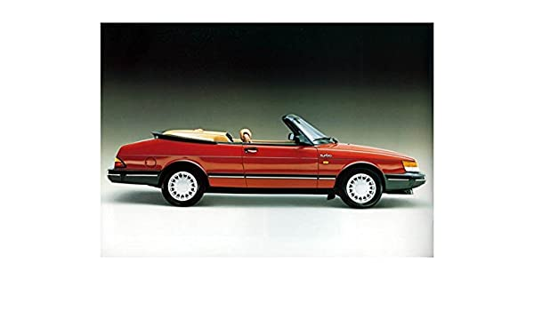 Amazon.com: 1988 Saab 900 Turbo Convertible Photo Poster: Entertainment Collectibles
